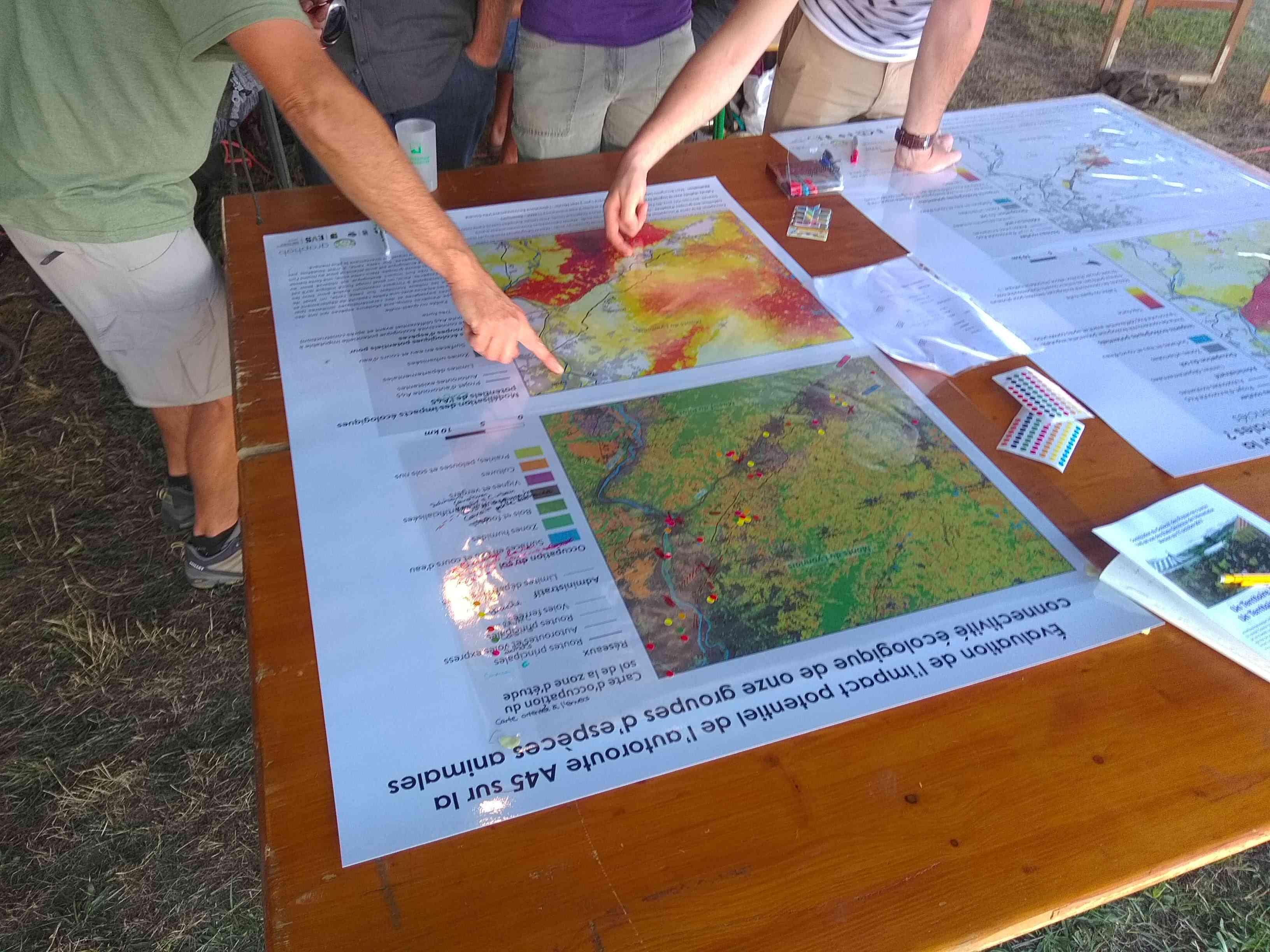 Cartes ateliers géographes libertaires