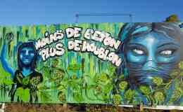 Moins de béton plus de Houblon, tag, graffiti, street art