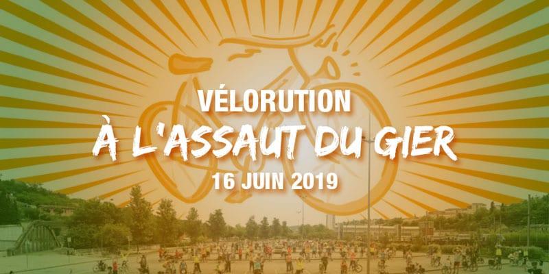 vélorution à l'assaut du gier ! Dimanche 16 juin 2019