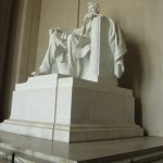 The famous Lincoln Statue