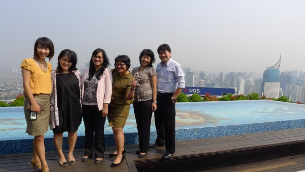 Half of Acer Marcom Team