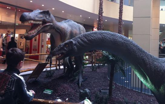 Dinosaures à Aéroville