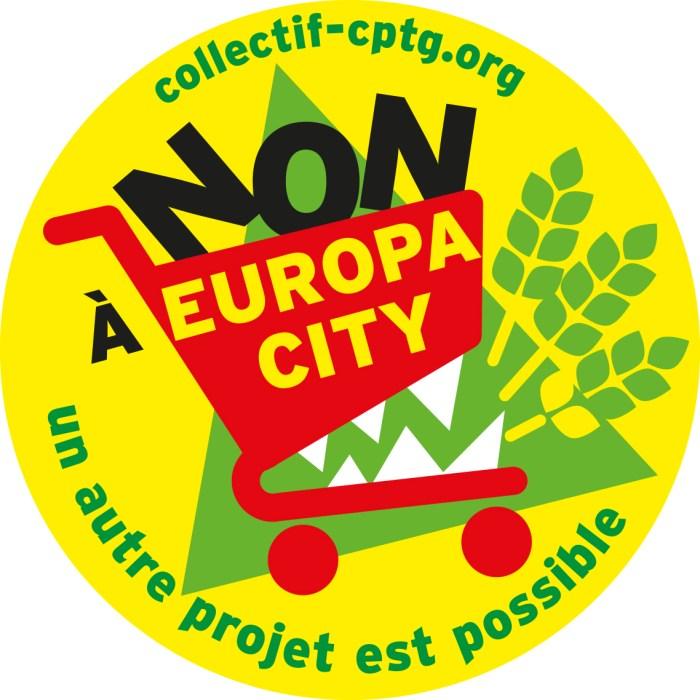 Logo couleur rond avec texte
