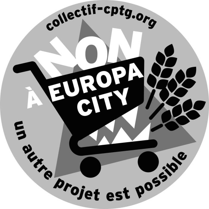 Logo Noir et Blanc pour impressions avec texte version 1