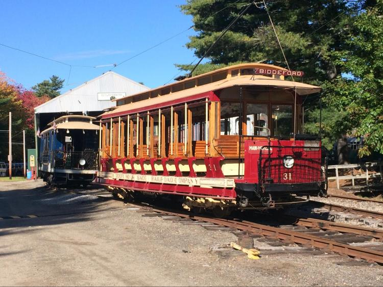 Picture of Seashore Trolley Museum.