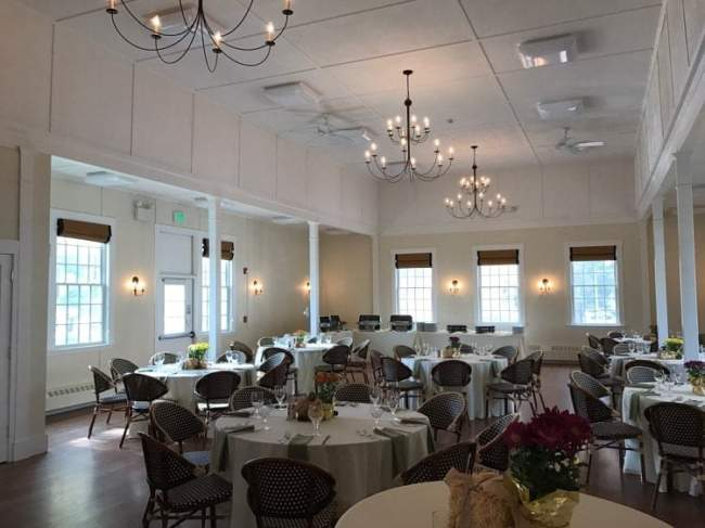 rehearsal dinner space in Kennebunkport Maine