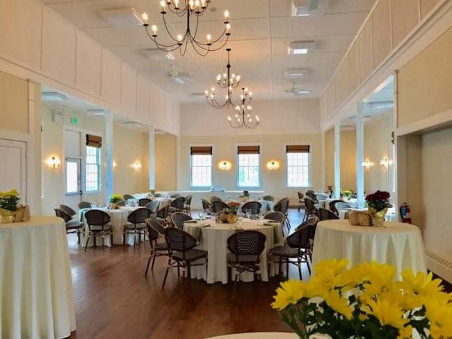 Event space in Kennebunkport Maine