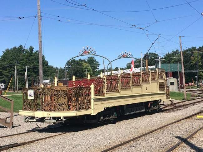 Kennebunkport resort local attraction trolley museum