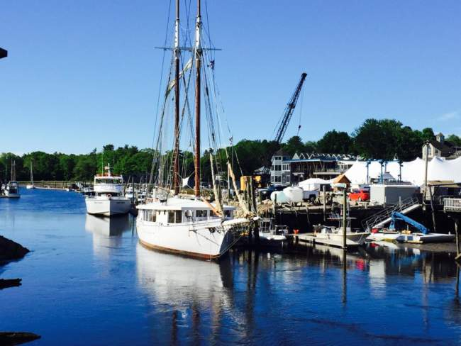 Kennebunkport resort local attraction sailboats