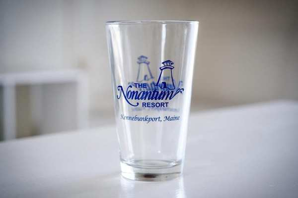 Kennebunkport resort pint glass