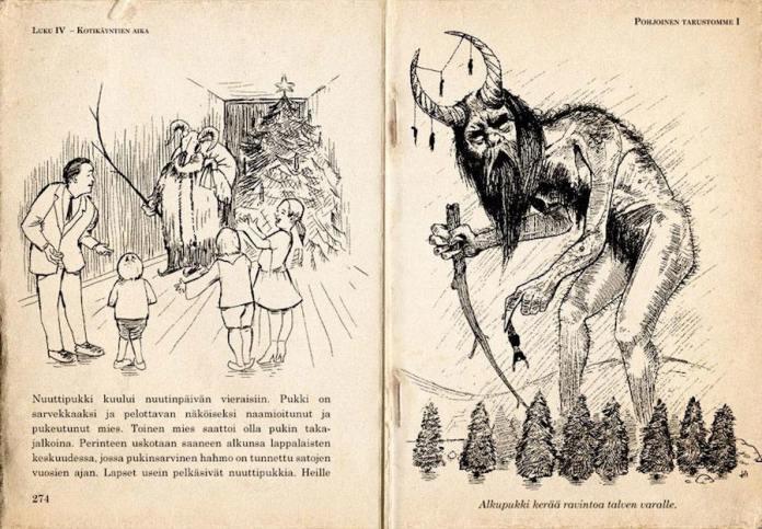 Joulupukki Yule Goat Babbo Natale