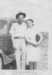 Robert Earl and Jennie Rector 1940