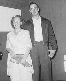 Jimmie Dee and Elsa about 1948