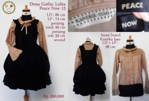 dress 15 gothic lolita peace now