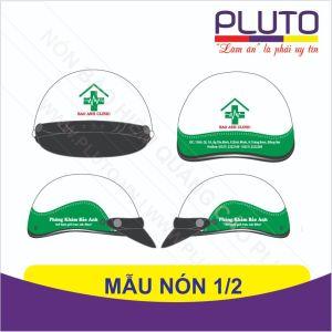 Mẫu nón bảo hiểm quảng cáo phòng khám