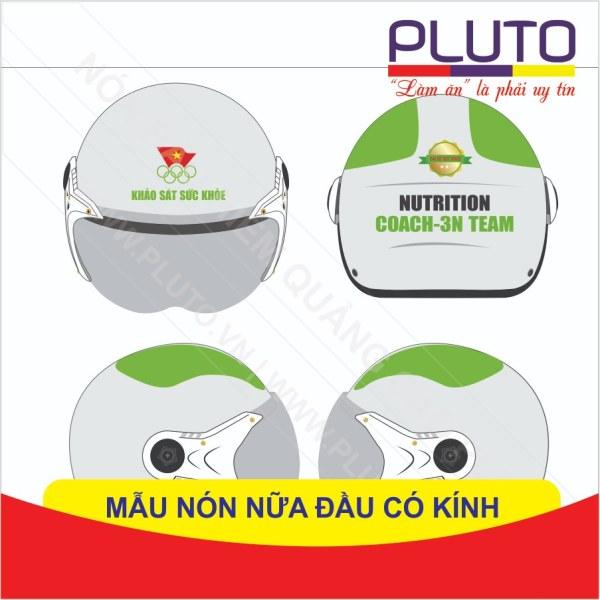 Nón bảo hiểm làm quà tặng Nutrition Coach-3N Team