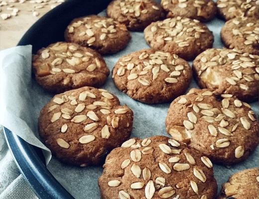 Biscotti di Porridge d'avena - Non Chiamatela Dieta