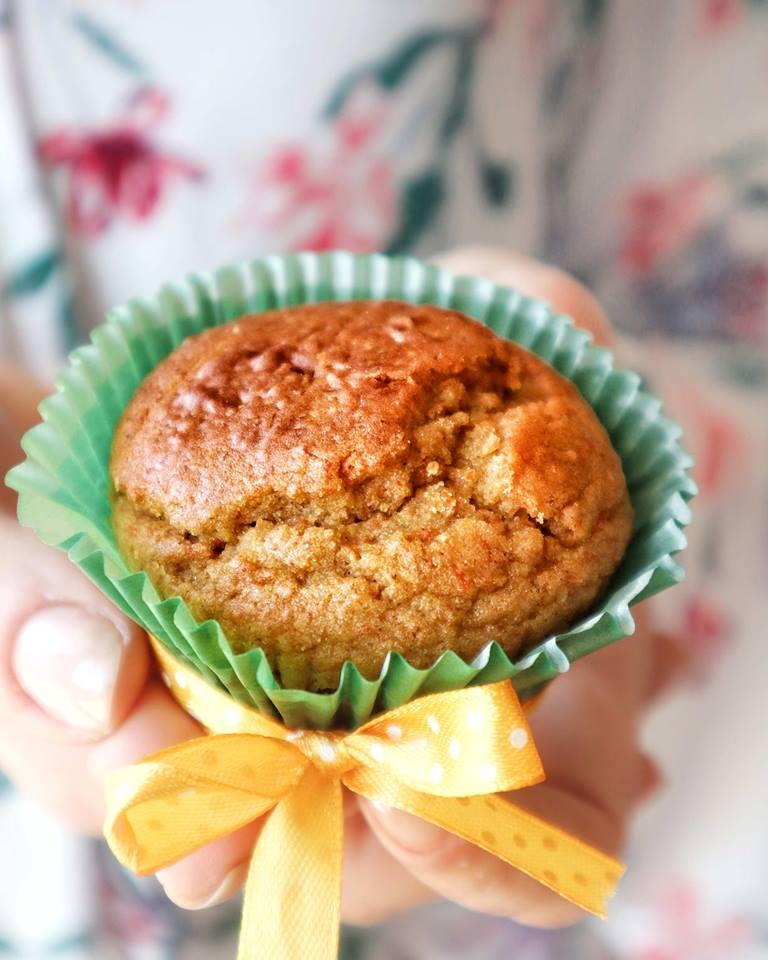 Muffin Carote e Mandorle - Preparazione - Non Chiamatela Dieta