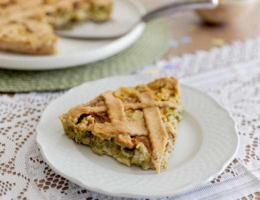 Crostata salata Piselli e Asparagi - Ingredienti - Non Chiamatela Dieta
