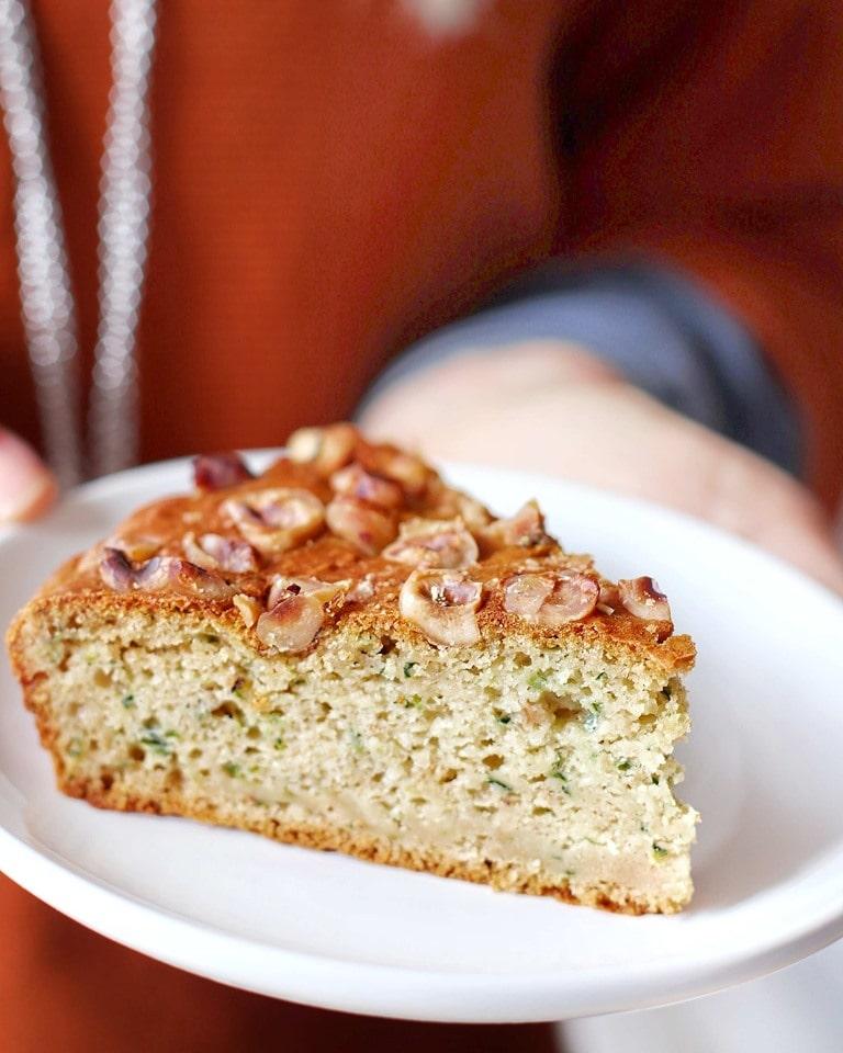 Torta Zucchine e Nocciole - Procedimento - Non Chiamatela Dieta