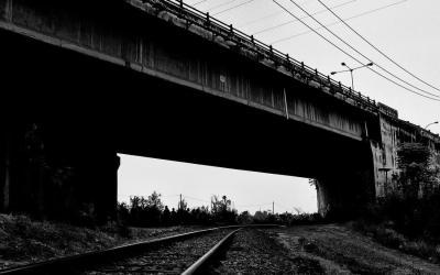 under the eight-mile bridge
