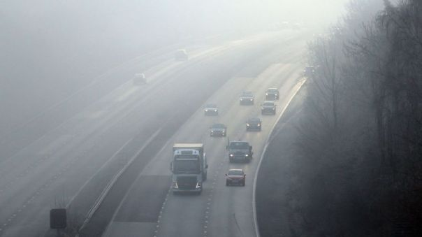 Widespread fog is forecast across southern England