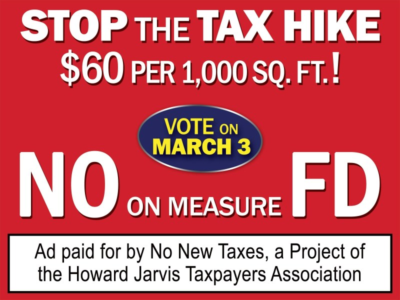 "Fire Tax ""unnecessary"" says HJTA President Jon Coupal"