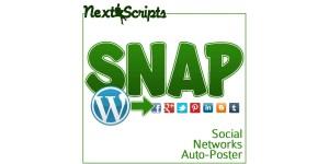 NextScripts for automatic social media posts