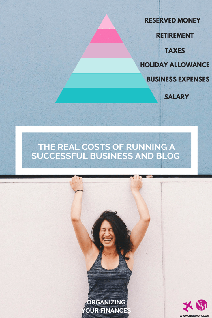 A breakdown- The real costs of running a successful business and blog