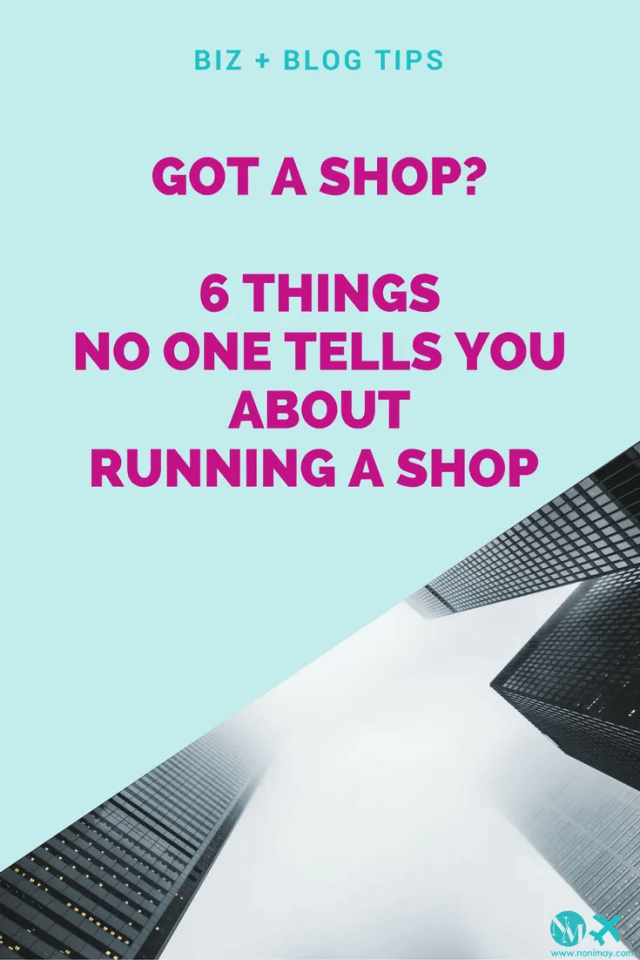 6 Things no one tells you about starting a retail business