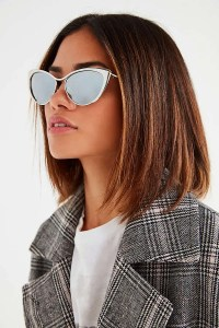 Urban Outfitter gifts under $25 all bloggers will love. Metal Edge Cat-Eye Sunglasses on sale