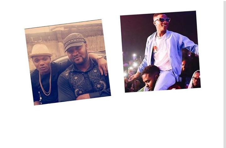 Wizkid's Bodyguard Attacked, Injured While Defending His Boss (See Graphics)