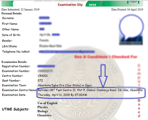 The Easiest way to Locate Your 2019/20 UTME CBT Centre