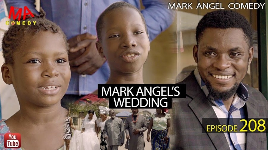 "Comedy Video: Mark Angel Comedy – Mark Angel's Wedding  Mark Angel Comedy releases a brand new blockbuster comical presentation which is titled Mark Angel's Wedding for this Friday in this very comic episode of the Mark Angel Comedy.  ""Mark Angel's Wedding"" is the 208th episode of the Mark Angel Comedy in which; in this funny video that is very hilarious. Mark Angel has finally decided to get married."