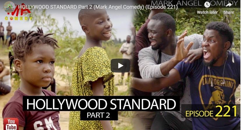 Video: HOLLYWOOD STANDARD Part 2 (Mark Angel Comedy Episode 221)