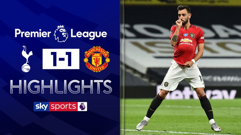 Download: Tottenham Vs Man U 1:1 (Goals & Highlights 19 June 2020)