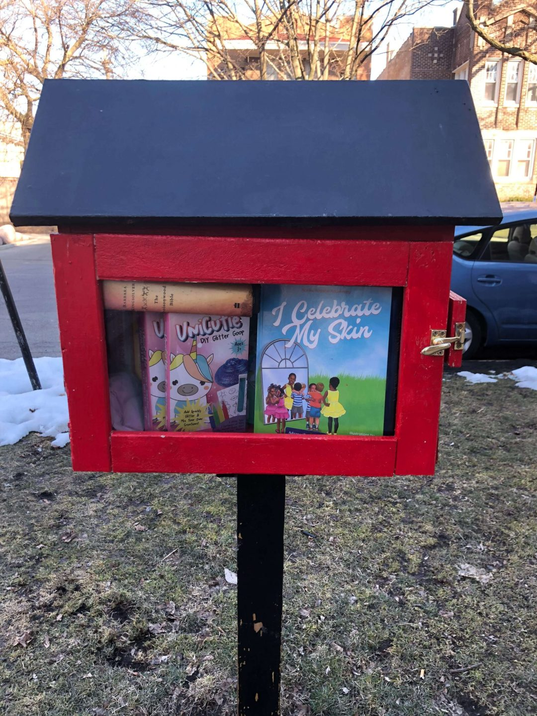 Little Free Libraries book donations