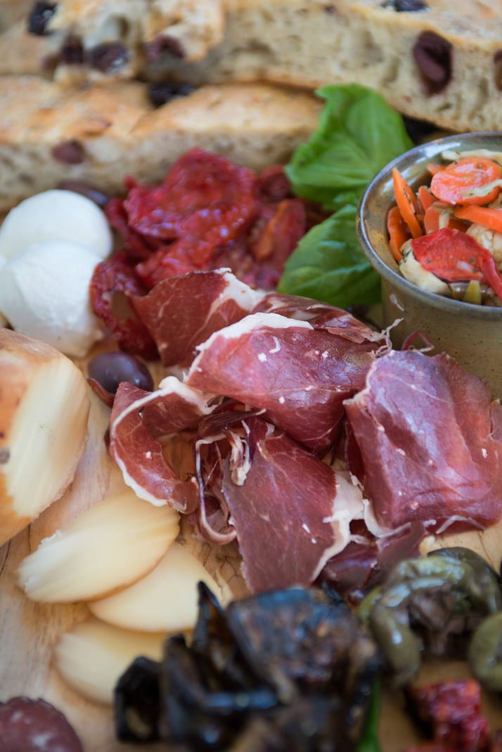spanish cured meat jamon iberico bellota