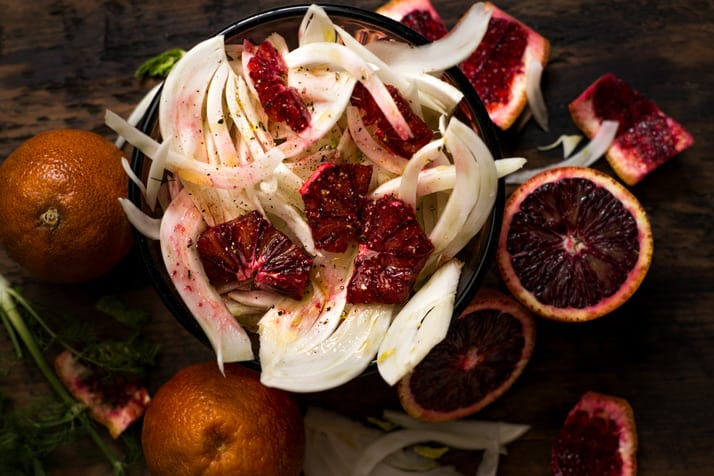 Italian-fennel blood-orange-salad
