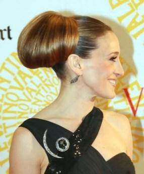 sarah-jessica-parker-long-hairstyle-polish-updo