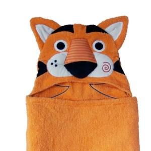 Zoocchini Ręcznik z Kapturem Tygrys Travis 3