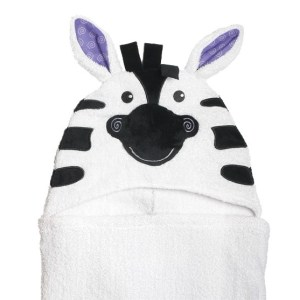 Zoocchini Ręcznik z Kapturem Zebra Ziggy 3