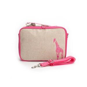 SoYoung Lunchbox Żyrafa Różowa