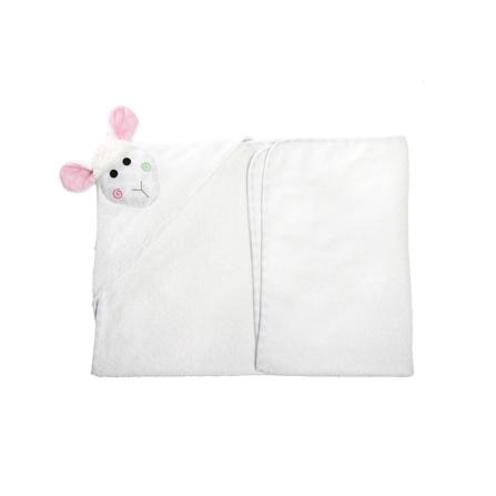 Zoocchini-Ręcznik-Mały-z-Kapturem-Owieczka
