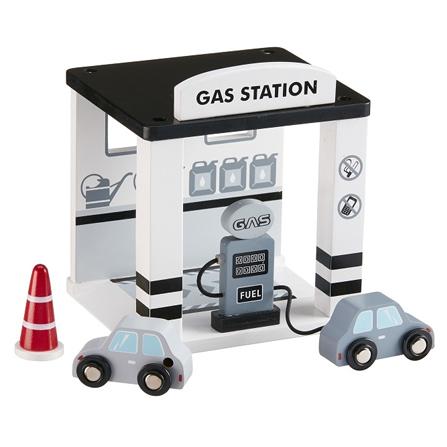 Kids Concept Drewniana Stacja Benzynowa
