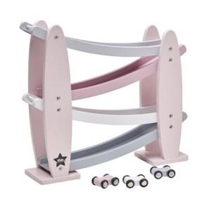 Kids Concept Zjeżdżalnia Drewniana Pink