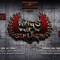 2016 IFBB Wings of Strength Chicago Pro