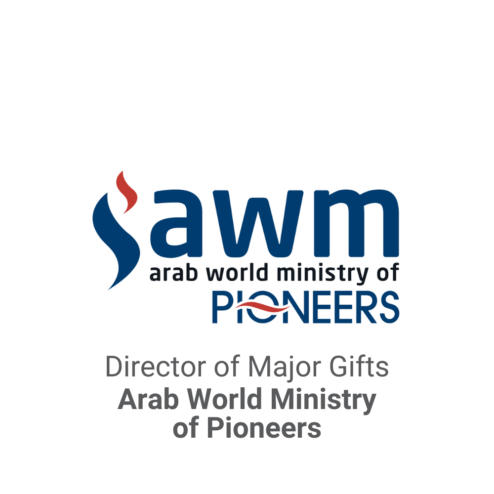 Director of Major Gifts Executive Search_Arab World Ministry of Pioneers DB&A Executive Search