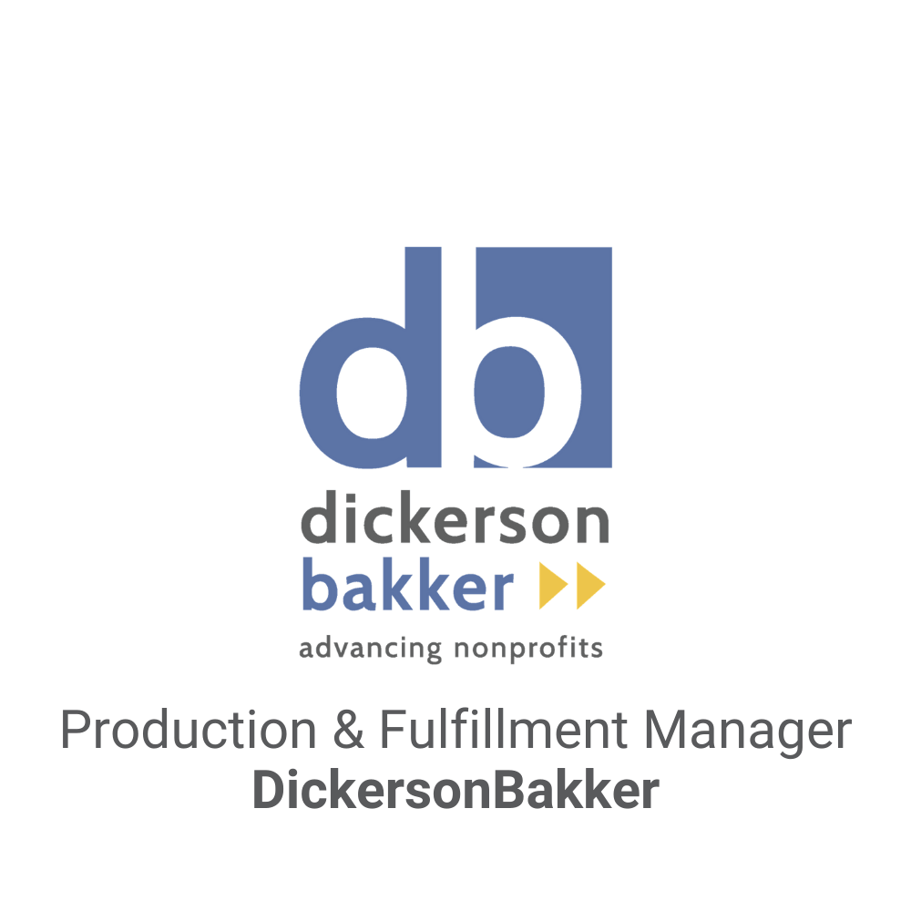 Production & Fulfillment Manager Executive Search_DickersonBakker DB&A Executive Search