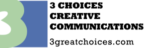 3 Choices Creative Communications Logo